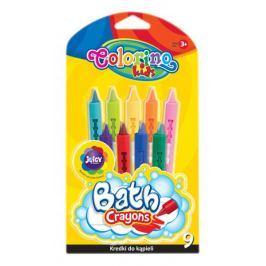 Pastelky voskové do vany Colorino 9 barev