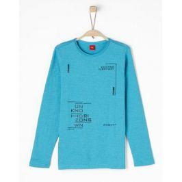 s.Oliver chlapecké tričko M tyrkysová