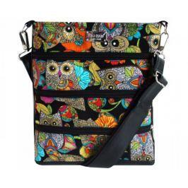 Dara bags Crossbody kabelka Dariana Middle No. 1165 Huhůůů