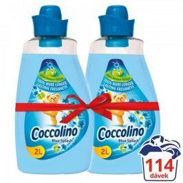 Coccolino Blue Splash aviváž 2x 2 l (114 praní)