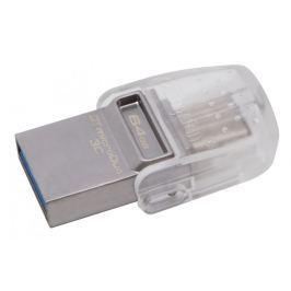 Kingston DataTraveler MicroDUO 3C 64GB / USB 3.1 / Type-C OTG (DTDUO3C/64GB)