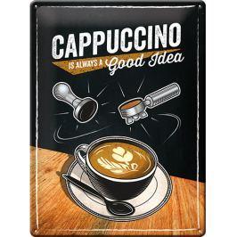 Postershop Plechová cedule Cappuccino