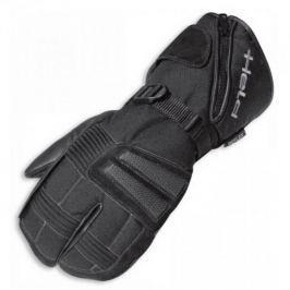 Held rukavice NORDPOL vel.10, HIPORA, černé, textil/kůže (pár)