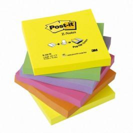 Blok samolepicí Post-it 76 x 76 mm/6 ks typ