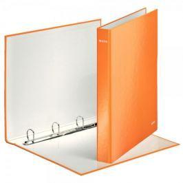 Pořadač 4-kroužkový lamino Leitz WOW A4 Maxi 4 cm oranžový