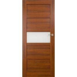 VASCO DOORS Interiérové dveře BRAGA kombinované, model A, Kaštan, C