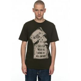 DC Dead Above SS M Tees Csn0 Dark Olive S