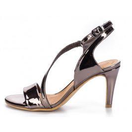 s.Oliver dámské sandály 37 stříbrná