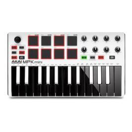 Akai MPK 2 MINI White ltd.edition USB/MIDI keyboard