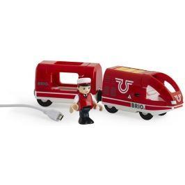 Brio WORLD 33746 Dobíjecí vlak s USB kabelem