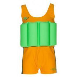 Beverly Kids Chlapecké nadnášející plavky Turtle 86 oranžovo-zelené
