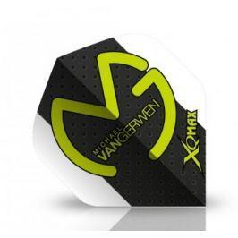 XQMax Darts Letky Michael van Gerwen - MvG white black F1705