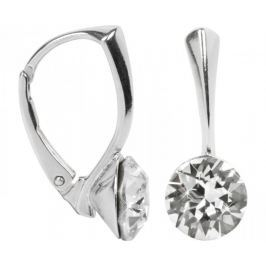 Troli Stříbrné náušnice Xirius Crystal stříbro 925/1000