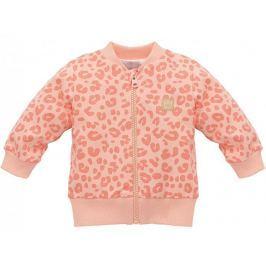 PINOKIO Dívčí kabátek Sweet Panther - oranžový 92