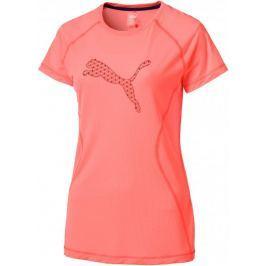 Puma Core Run S S Logo Tee W Nrgy Peach S