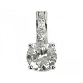 Silver Cat Stříbrný přívěsek s krystaly SC032 stříbro 925/1000