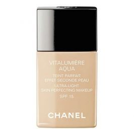 Chanel Rozjasňující hydratační make-up Vitalumiere Aqua SPF 15 (Ultra-Light Skin Perfecting Sunscreen Makeu