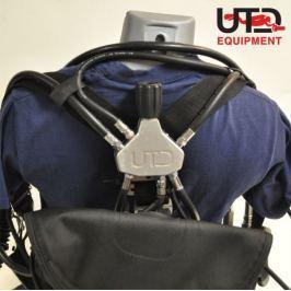 Manifold pro sidemount konfiguraci, UTD
