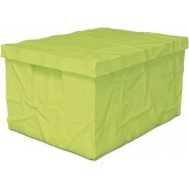 Surplus systems Plastový box s víkem 30x40x22 cm zelená