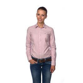 Recenze Gant dámská proužkovaná košile 32 červená faba855420