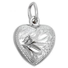 Brilio Silver Stříbrný přívěsek Srdce 441 001 00029 04 - 0,96 g stříbro 925/1000
