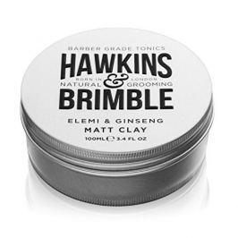Hawkins & Brimble Matující pomáda na vlasy s vůní elemi a ženšenu (Elemi & Ginseng Matt Clay) 100 ml