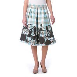 Desigual dámská sukně 34 modrá