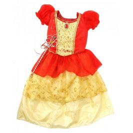 Mac Toys Šaty pro princeznu - červeno/žluté