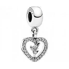 Pandora Stříbrný přívěsek Disney Víla Zvonilka 791565CZ stříbro 925/1000