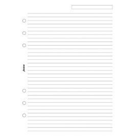 Náhradní náplň do diáře Filofax A5 papír linkovaný, bílý, 25 listů