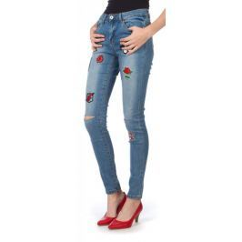 Brave Soul dámské jeansy Badger S modrá