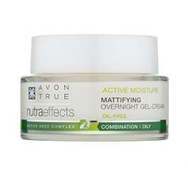 Avon Matující noční gelový krém s nemastným složením NutraEffects (Mattifying Overnight Gel-Cream) 50 ml