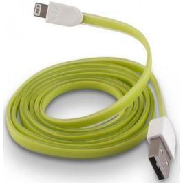 Forever Datový kabel pro Apple Iphone 5, silikonový, zelená
