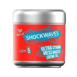 Wella Krémový gel na vlasy Shockwaves (Mess Maker Ultra Strong) 150 ml