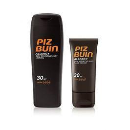 PizBuin Sada sluneční péče Mléko na opalování SPF 30 Allergy 200 ml + Krém na opalování na obličej SPF 30 Al