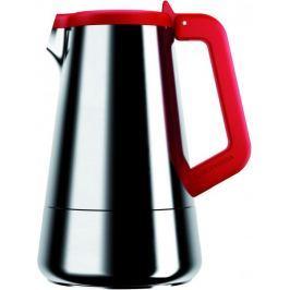 Viceversa Moka konvička na espresso červená 4 šálky