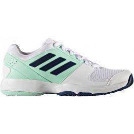 Adidas Barricade Court W Ftwr White/Mystery Blue /Easy Green 38.0