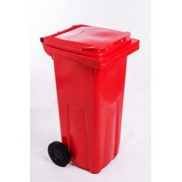 J.A.D. TOOLS popelnice 120 l červená plastová