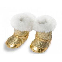 Heless Boty zimní zlaté 38-45 cm
