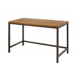 Danish Style Pracovní stůl s dřevěnou deskou Harvest, 120 cm