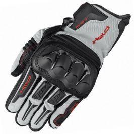 Held rukavice SAMBIA vel.11 šedá/černá, textil/klokaní kůže (pár)