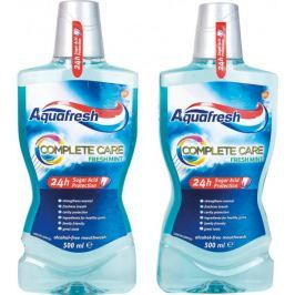 Aquafresh Complete Care ústní voda 2 x 500 ml