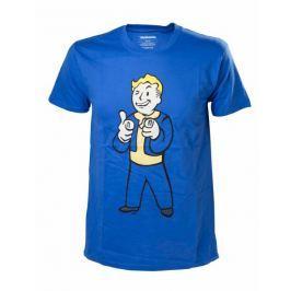 Tričko Fallout 4 - Vault-Boy Shooting Fingers (velikost L)