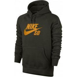 Nike SB Icon PO Hoodie Black/Orange S