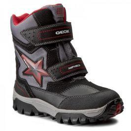 Geox chlapecká zimní obuv Himalaya 24 černá