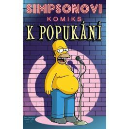 Groening Matt: Simpsonovi Komiks k popukání