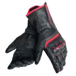 Dainese rukavice ASSEN vel.M černá/fluo červená