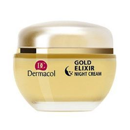 Dermacol Omlazující kaviárový noční krém (Gold Elixir Night Cream) 50 ml