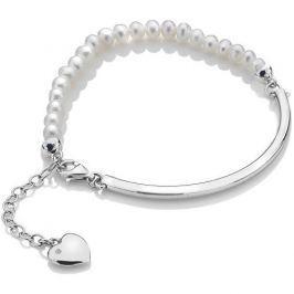 Hot Diamonds Stylový náramek Festival Mother of Pearl DL303 stříbro 925/1000