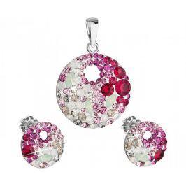 Evolution Group Elegantní souprava šperků Sweet Love 39148.3 stříbro 925/1000